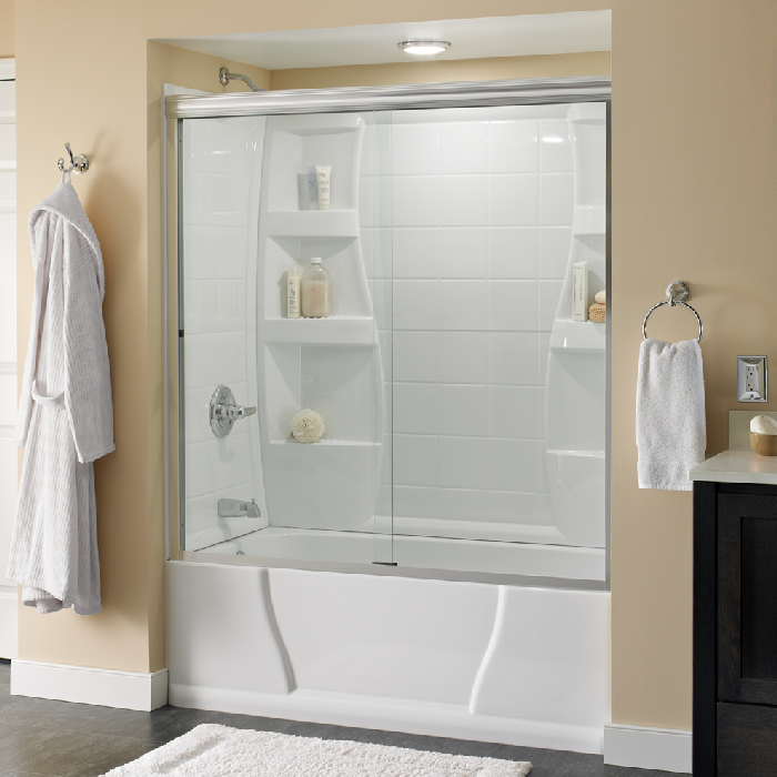 Customize shower door for Best classic house tracks