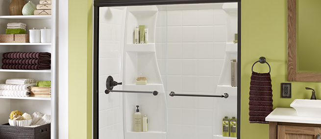 Sliding Glass Shower Doors For Tubs Amp Walk In Delta