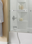 Bath Tub Shower Ideas | Delta - Bathtub Door Designs