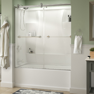 Merveilleux Sliding Bathtub Door Installation