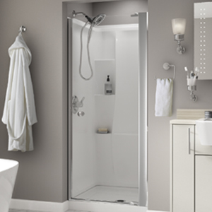 Attirant Pivoting Shower Door Installation | Delta Faucet U2013 Installation Guide