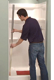 How To: Shower Door Installation – Pivot, Sliding & Tub | Delta ...