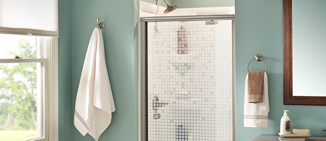 Learn How To Install These Glass Pivot Shower Doors By