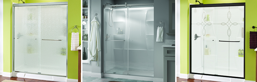 Opaque Single Shower Doors safety glass and shower doors: how to ensure the safety of your