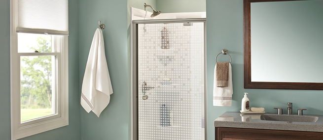 Shower Enclosure Amp Surround Ideas Delta Faucet