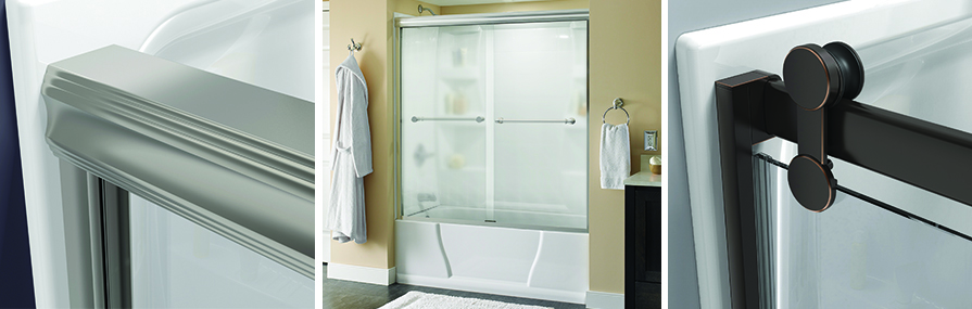 Custom Designed Shower Door Upgrades header image