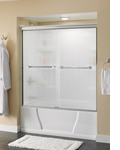 Sliding Tub Shower Doors | Delta Faucet - Ideas for Bathroom