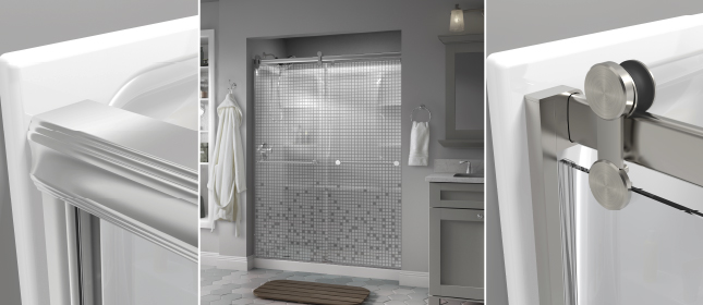 Sliding glass shower doors compatibility guide how to choose the how to choose the right sliding glass shower door for your bathroom planetlyrics Image collections
