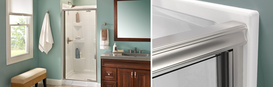 How To Install A Top Track Pivoting Shower Door Delta
