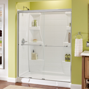 Sliding Shower Door Installation