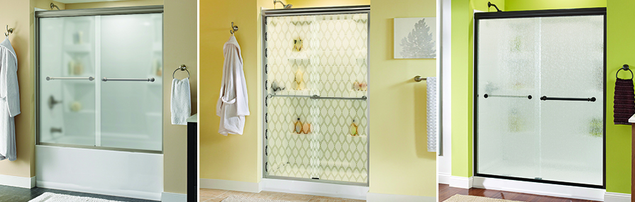 Transparent vs. Opaque Shower Doors header image