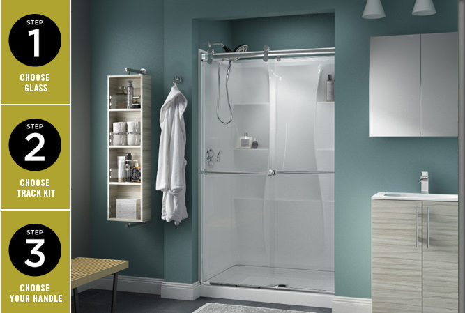 Bathroom Sliding Shower Door Parts Curved Sliding Shower